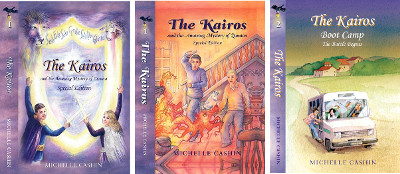 The Kairos Series book covers by Michelle Cashin